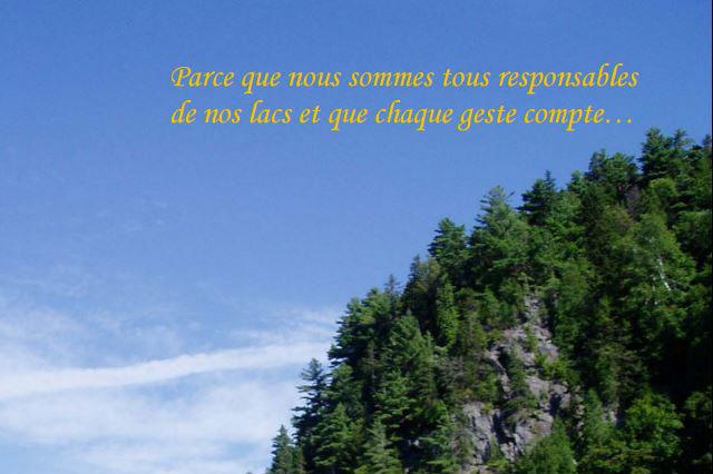 Guide riverain Lac Blanc